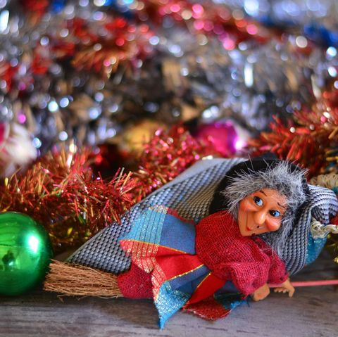 the Befana takes away all the Christmas parties