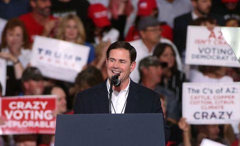 Arizona Governor Doug Ducey Wants to Elevate Maricopa County