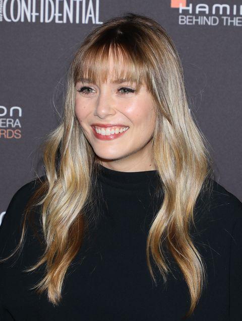 Elizabeth Olsen Debuts New Bangs At Hamilton Behind The Camera Awards In L A