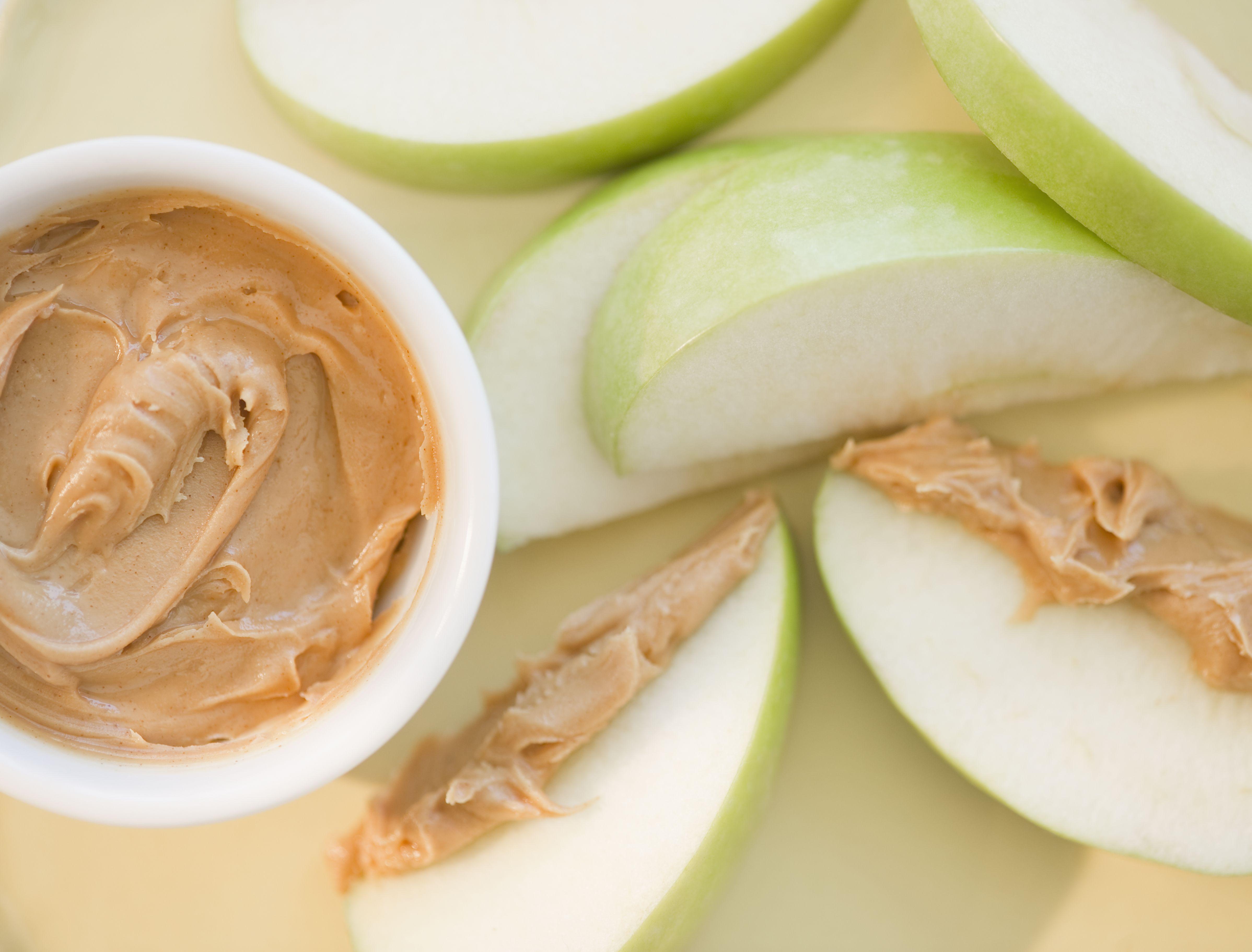peanut butter before bed burn fat