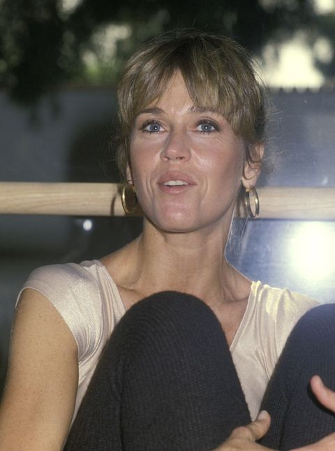 Jane Fonda at Opening of Workout Exercise Gym - September 13, 1979