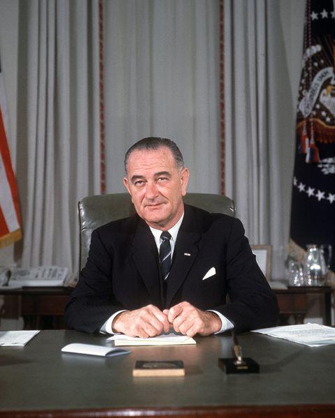 リンドン・ジョンソン米大統領 ビフォーアフター  before after 写真