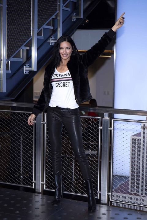 Empire State Building Hosts Angel Adriana Lima In Celebration Of The 2018 Victoria's Secret Fashion Show