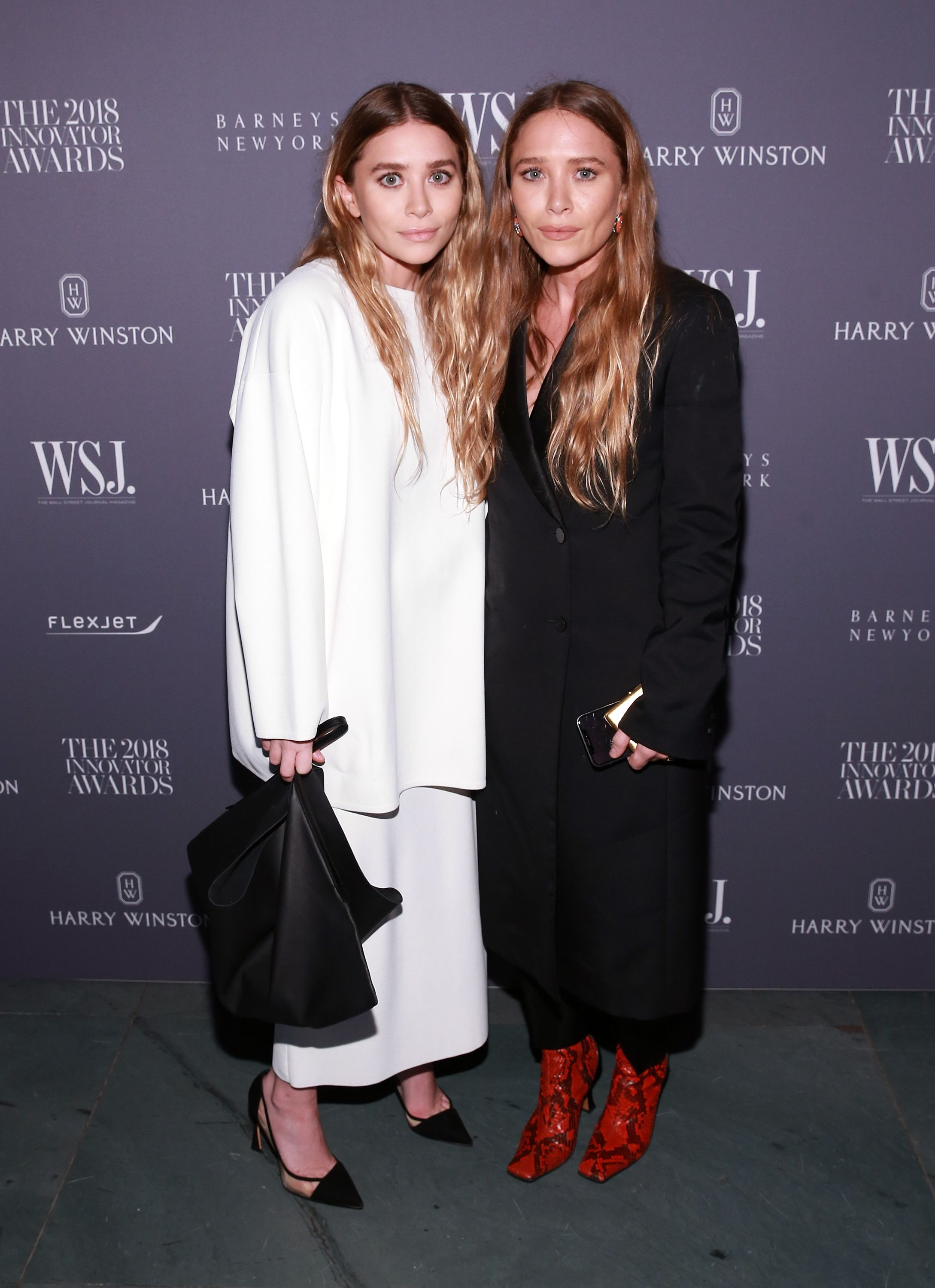 Mary-Kate and Ashley Olsen fashion - the olsen twins