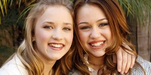 "Stars of Disney Channel's ""Hannah Montana"" Meet the Press"