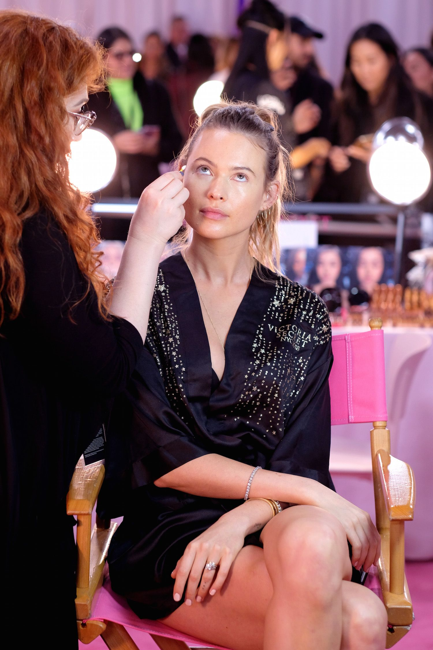 Victoria's Secret VS show make-up angels