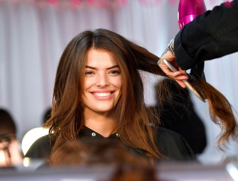 How to Blow Dry Hair - At-Home Blowout Tips and Tricks from ...