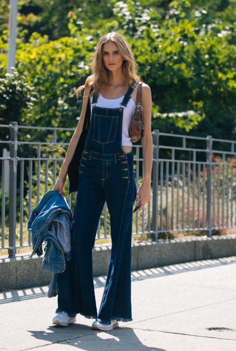 Photograph, Jeans, Street fashion, Denim, Standing, Beauty, Fashion, Snapshot, Jacket, Blond,