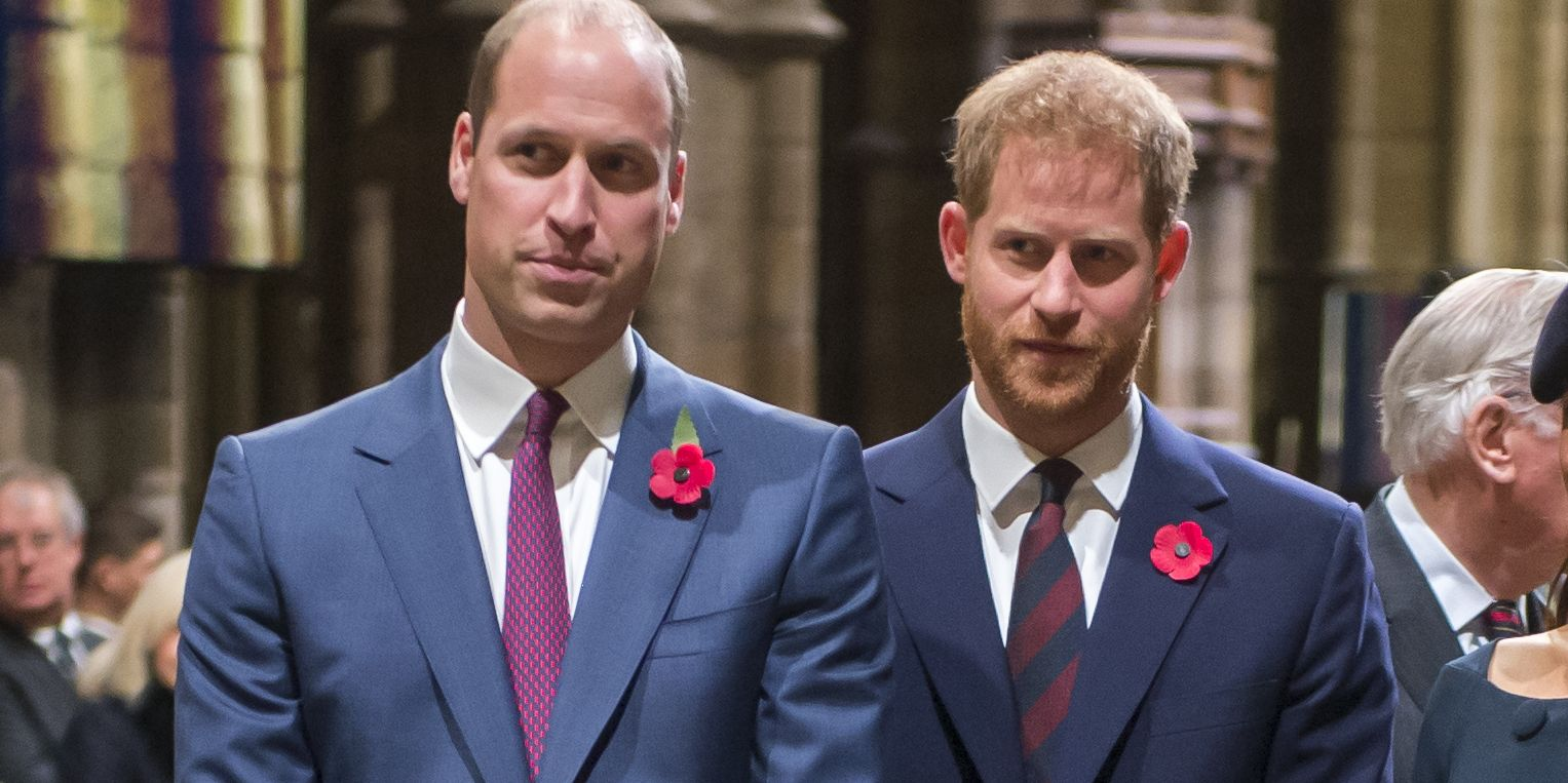 Prince William and Prince Harry Legit Didn't Speak During Easter Service