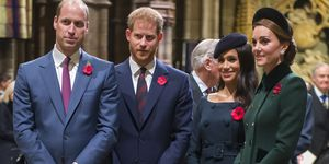 The Queen Attends A Service At Westminster Abbey Marking The Centenary Of WW1 Armistice