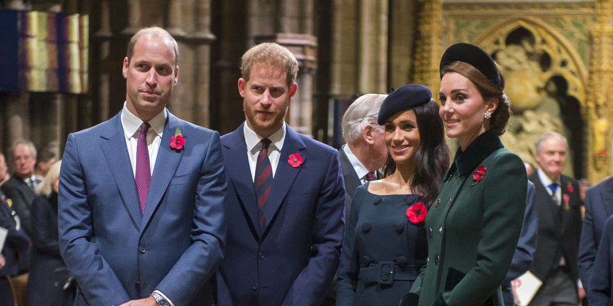 Meghan Markle and Prince Harry Hopped into the Royal Family's Group Chat