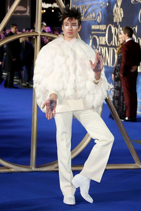 Fur, Red carpet, Fur clothing, Carpet, Fashion, Premiere, Flooring, Costume,