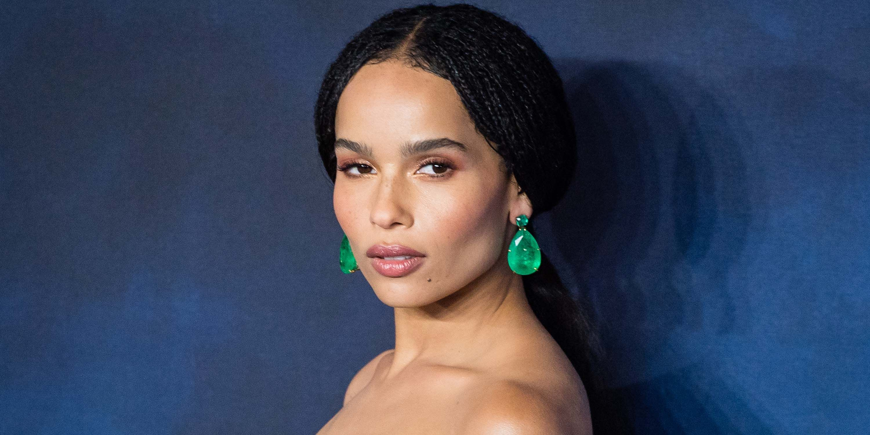Every One Of Zoë Kravitz's Cool Kid Glam Red Carpet Looks