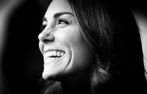 Face, Black, White, Photograph, Facial expression, Black-and-white, Smile, Nose, Lip, Monochrome,