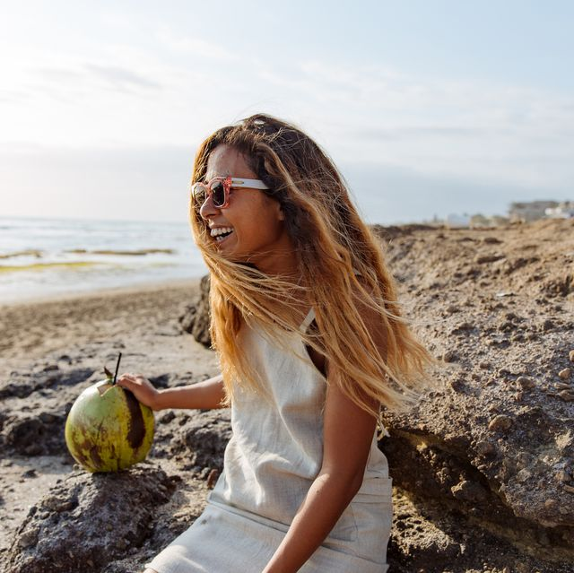People in nature, Hair, Photograph, Beauty, Blond, Sea, Yellow, Model, Ocean, Photography,