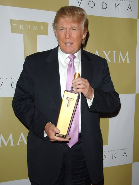 People Are Wasting Real Money on Empty Bottles of Trump's Failed Vodka