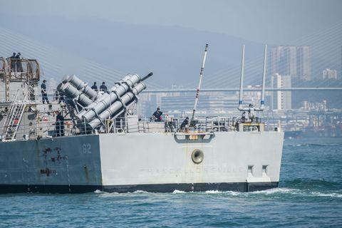 US Navy's USS Chancellorsville