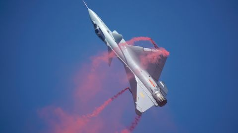 China's New Upgrade Makes Its Fighter Jets Wildly Maneuverable