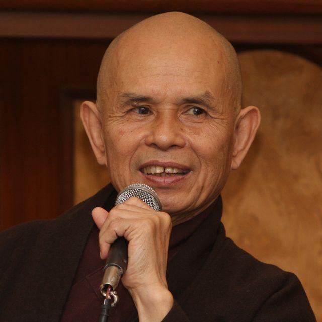 Vietnamese Zen master Thich Nhat Hanh Visits India