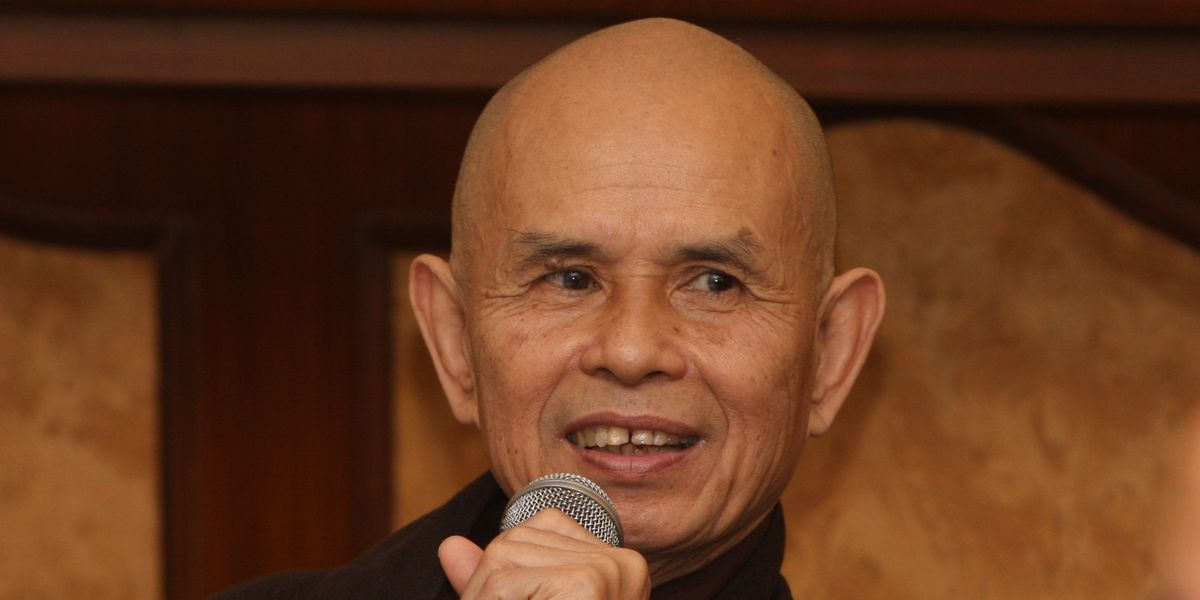 These Profound Thich Nhat Hanh Quotes Will Bring You Peace Today