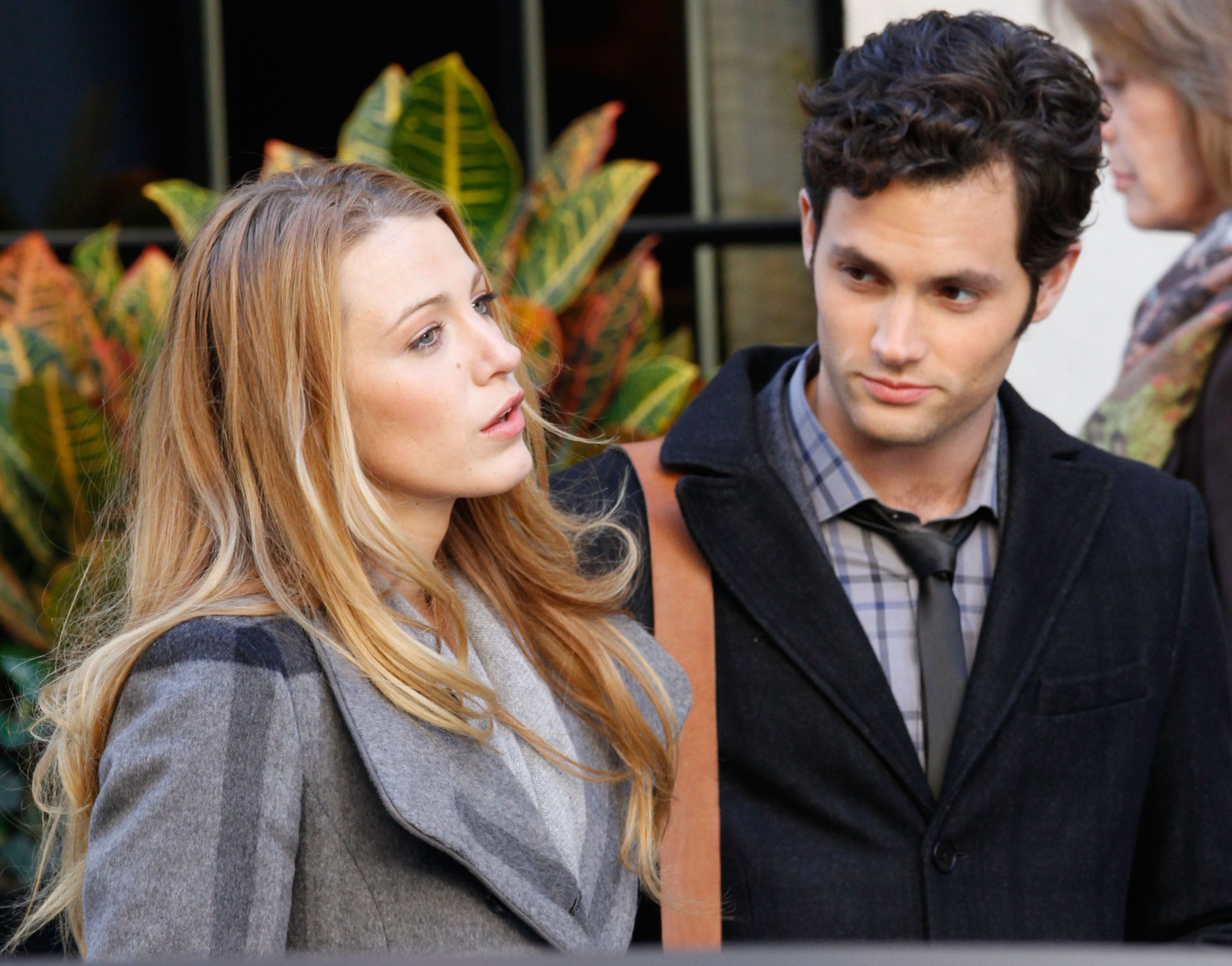 Image result for penn badgley blake lively