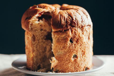Food, Bread, Cuisine, Dish, Baked goods, Panettone, Ingredient, Staple food, Dessert, Finger food,