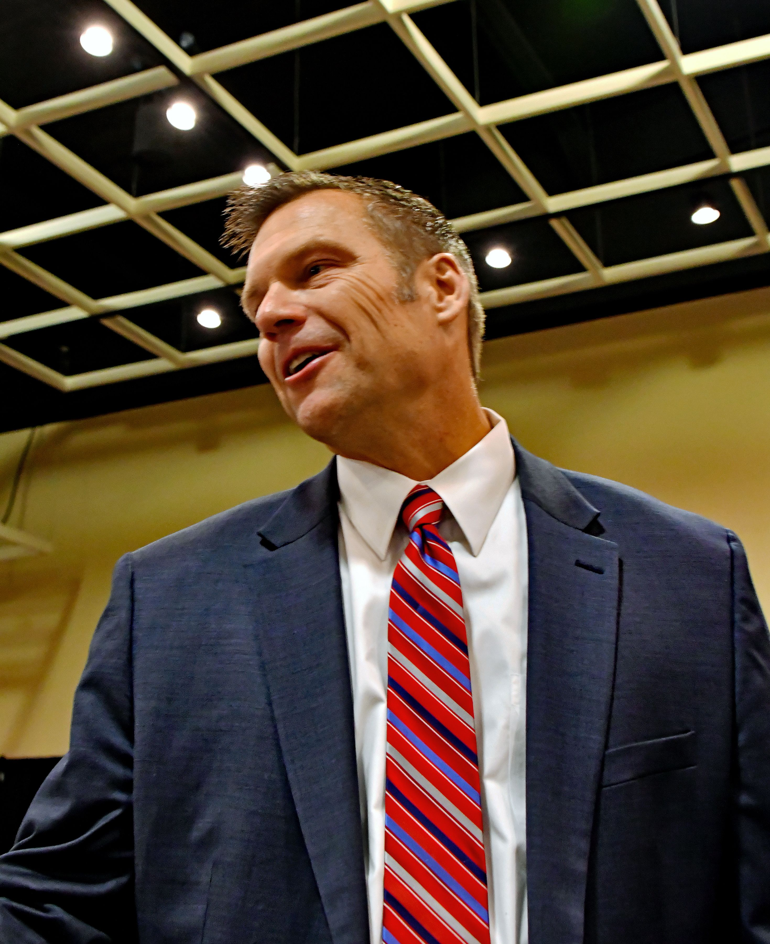 Kris Kobach's Cartoon Demands to Serve as Trump Immigration Czar Just Leaked