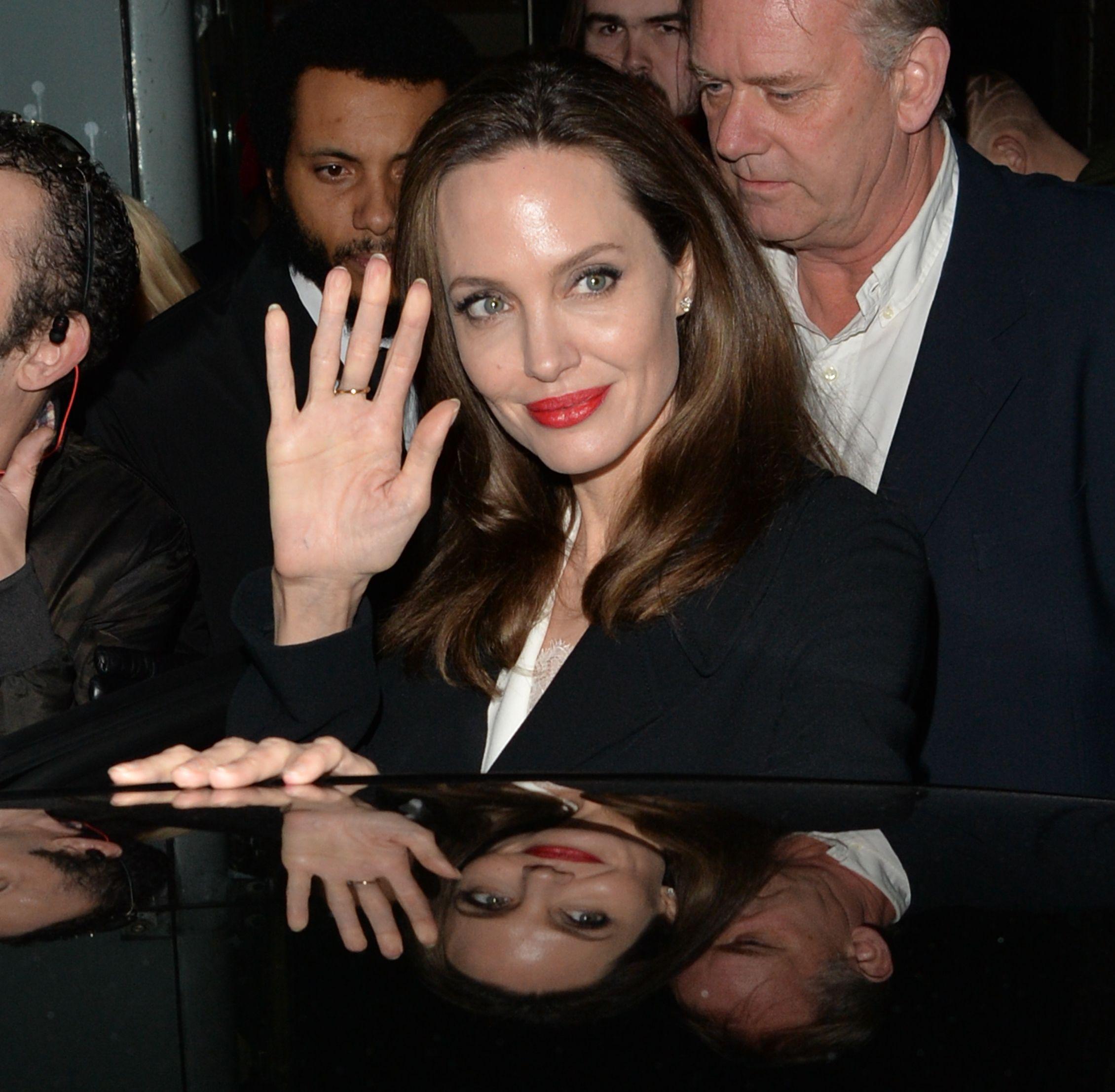 L'abito Jolie Lungo Copertissima Angelina Nero Di Anti Sexy 8PN0nwOkXZ