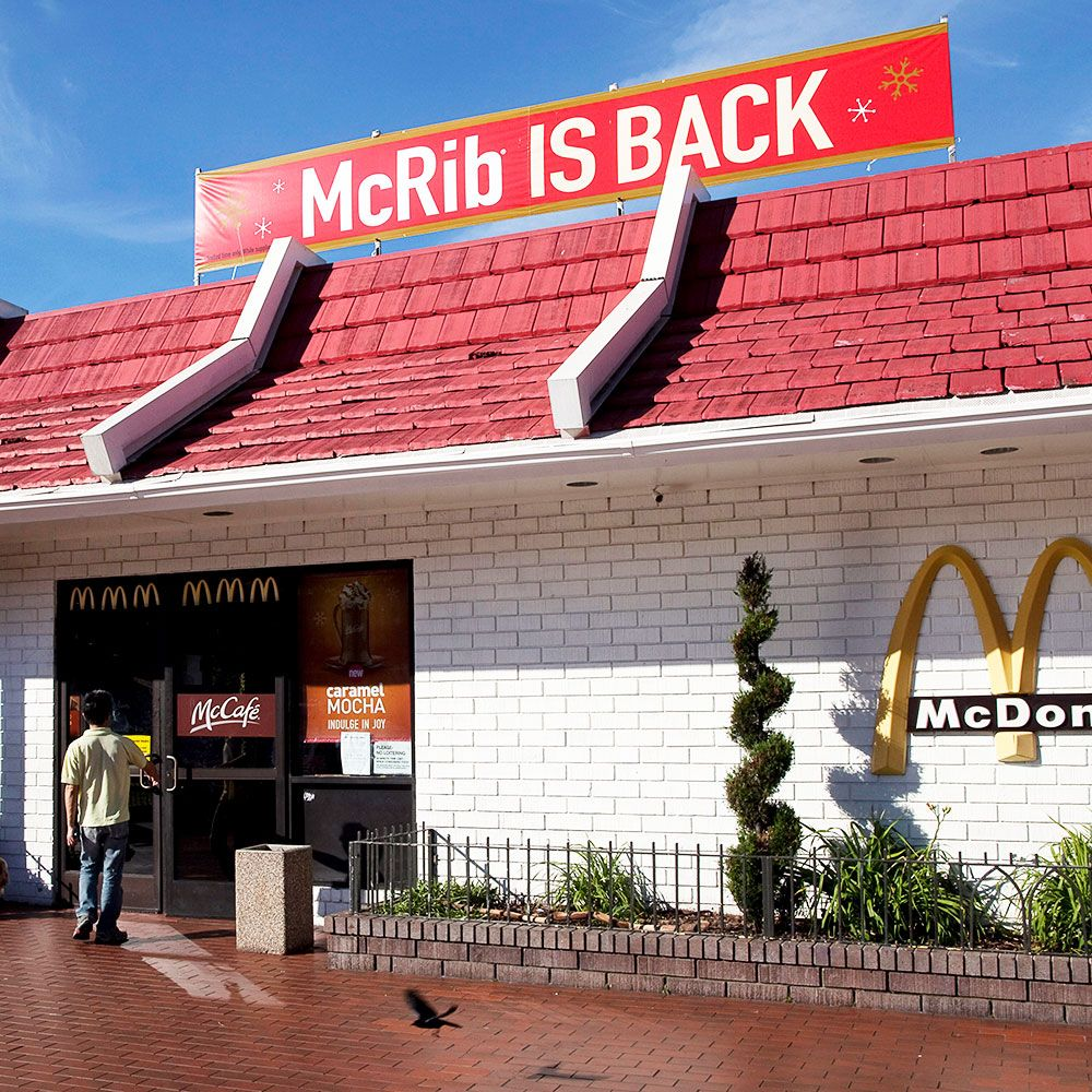 The McRib Is Back at McDonald's. Here's What's Actually In It.
