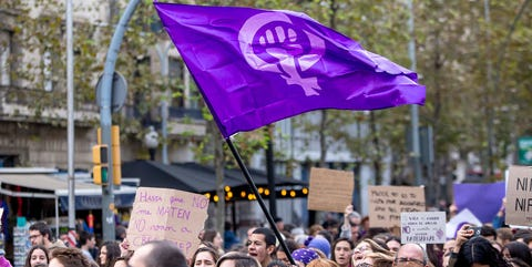 People, Crowd, Protest, Event, Public event, Rebellion, Demonstration, Purple, Social work, Festival,