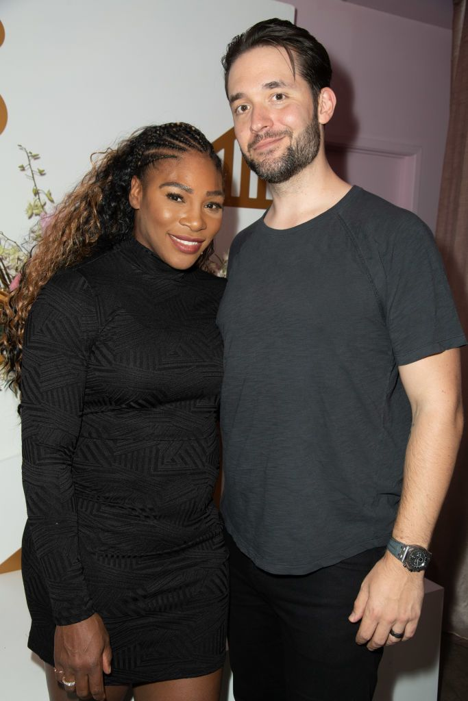 Serena Williams and Alexis Ohanian had a meet-cute in Rome.