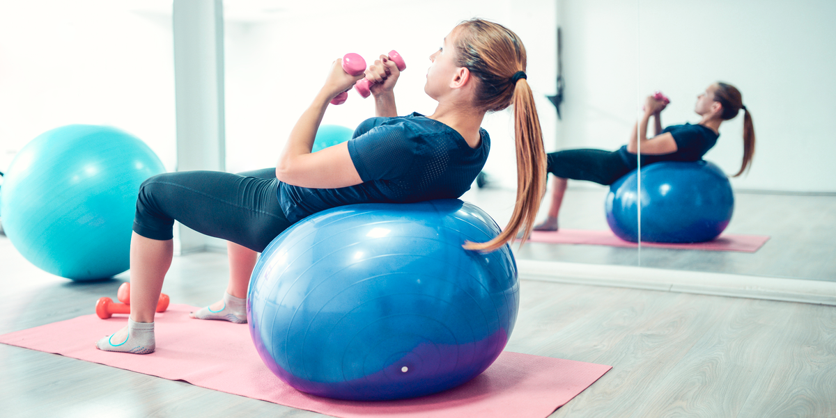 12 Best Exercise Balls for Every Type of Workout, According to Fitness Experts
