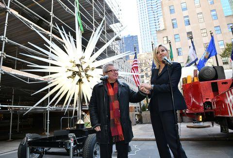 Rockefeller Christmas Tree Star