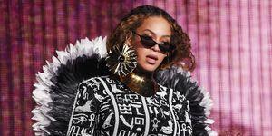 Beyonce on tour - Beyonce stage costume