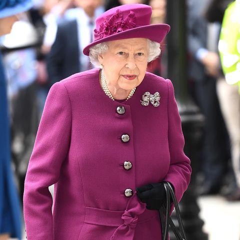 Clothing, Street fashion, Pink, Fashion, Suit, Outerwear, Hat, Magenta, Blazer, Headgear,