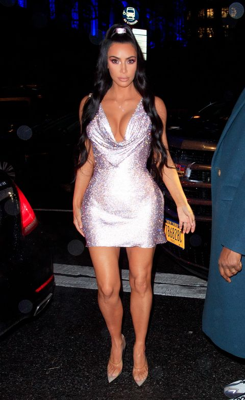 f4dfd8e5ab9 Kim Kardashian s Versace Dress Looks Like Paris Hilton s 21st ...