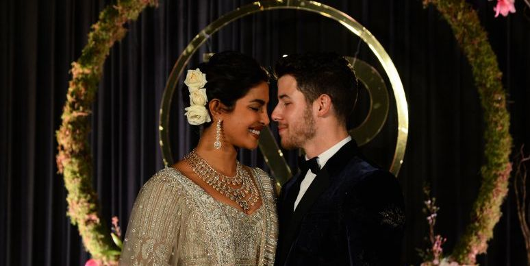 Priyanka Chopra's Wedding Veil Was 60 Feet Longer Than Meghan Markle's