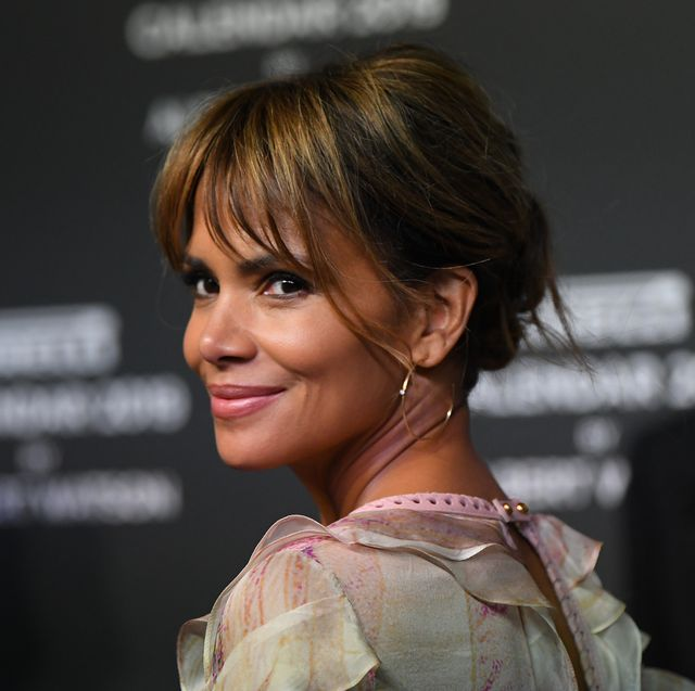 milan, italy   december 05  halle berry walks the red carpet ahead of the 2019 pirelli calendar launch gala at hangarbicocca on december 5, 2018 in milan, italy  photo by jacopo raulegetty images