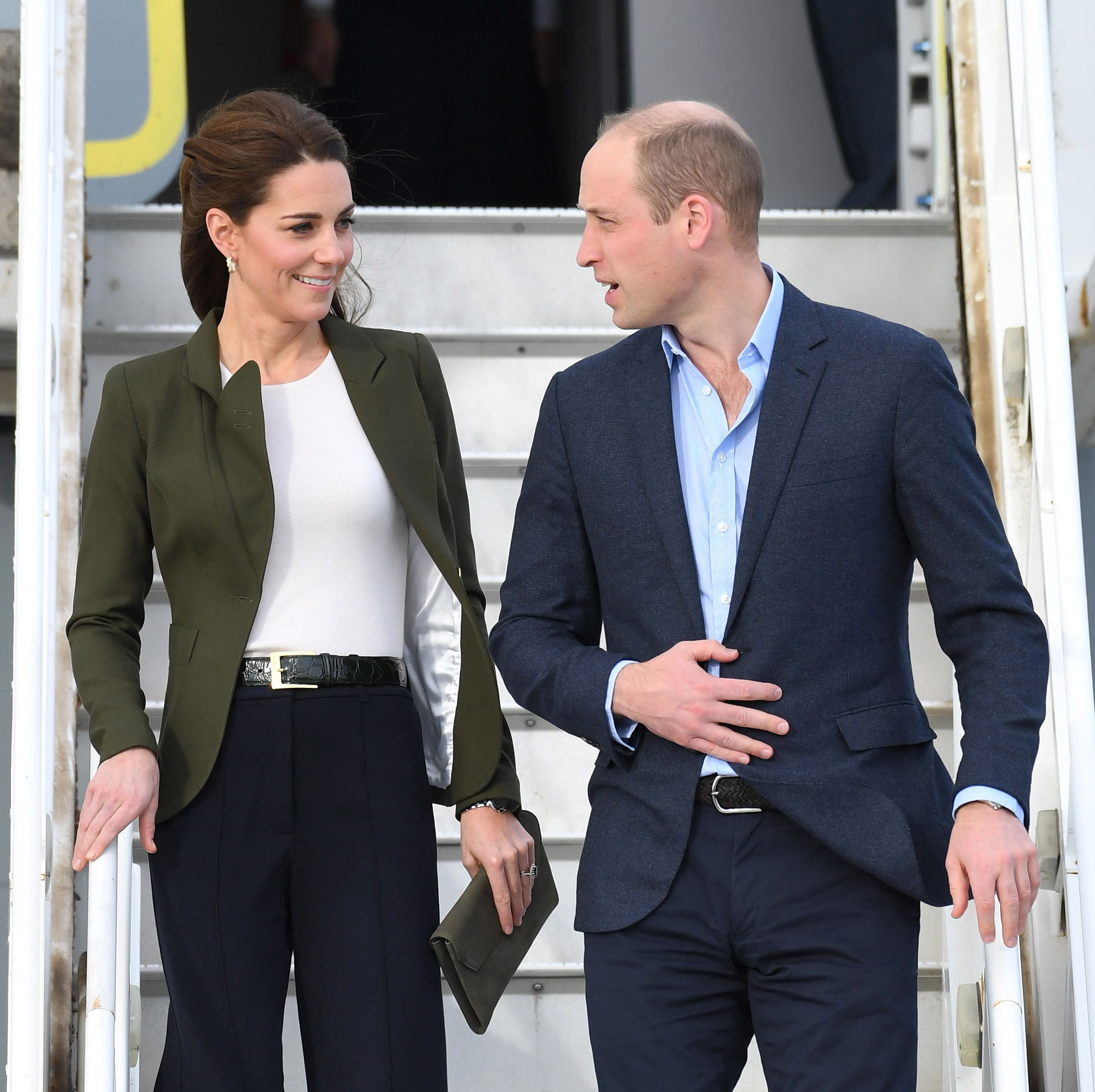 Prince William Just Flirtatiously Teased Kate Middleton About Her Outfit In Public
