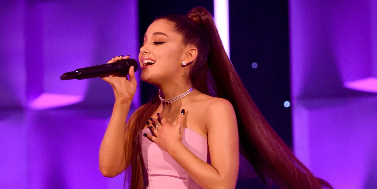 Listen To Ariana Grande S New Song Imagine Imagine Lyrics Meaning And Mac Miller References Ariana grande dropped her sixth studio album, 'positions.' the track 34+35 shocked fans because of its overtly sexual lyrics—find out what it means here. listen to ariana grande s new song