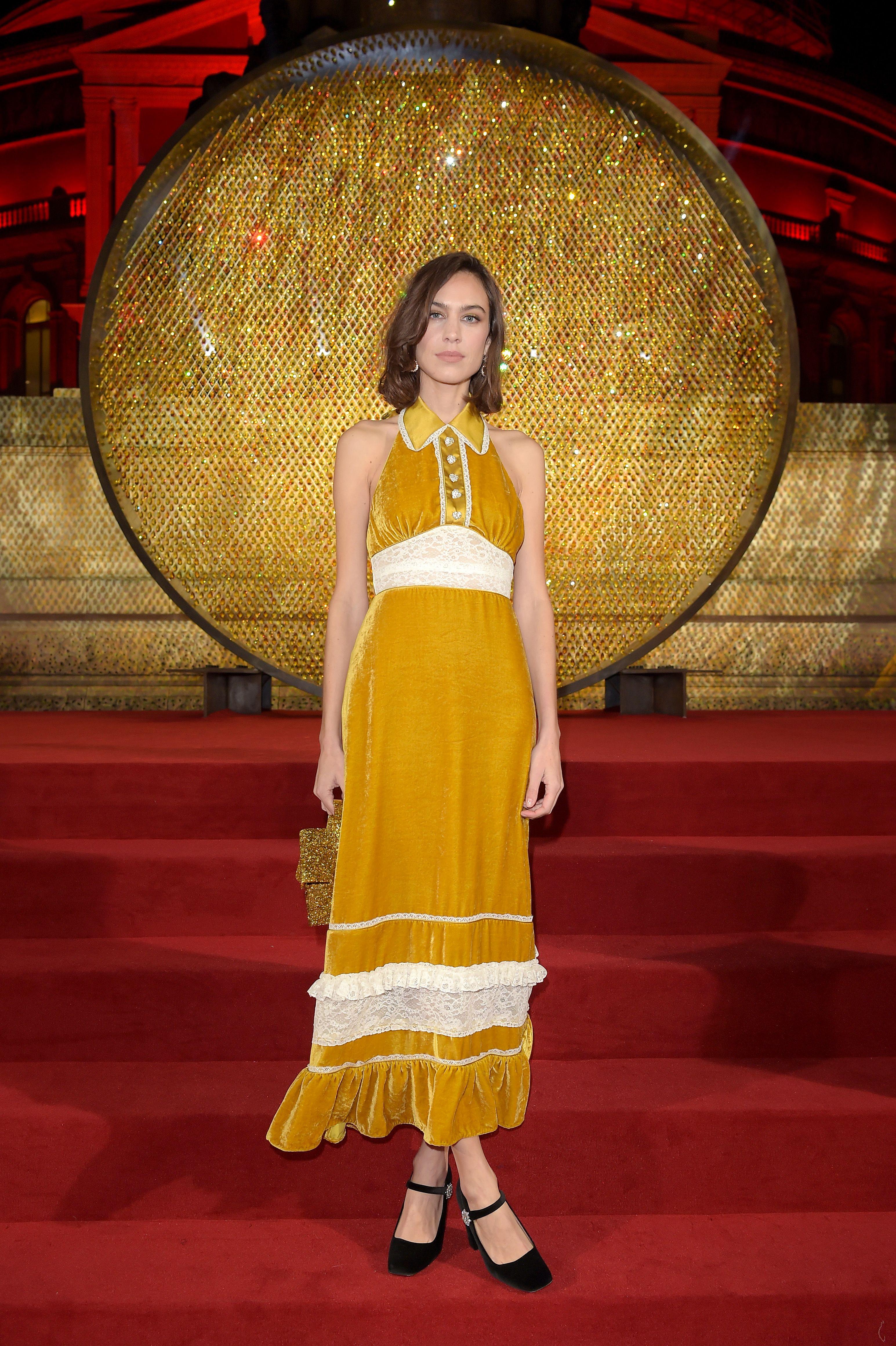Fashion Awards 2018 Best Dressed Red Carpet Celebrities