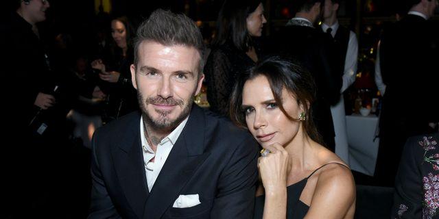 David Beckham Makes Fun Of Victoria Beckham's 'Ross From Friends' Teeth