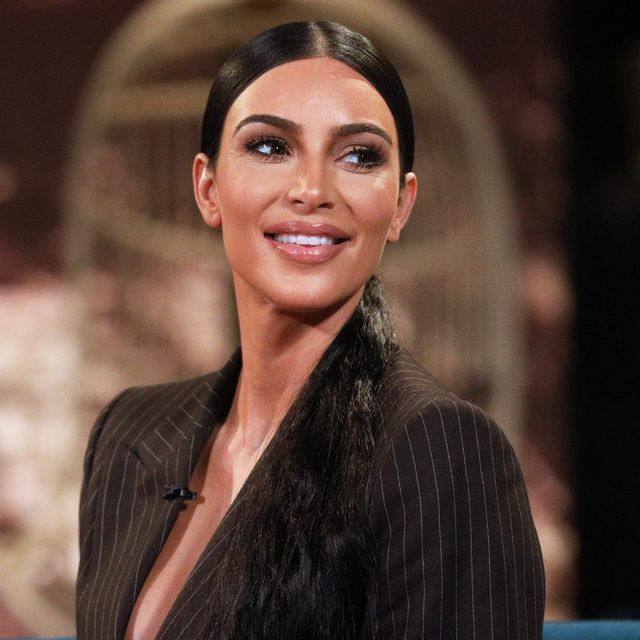Kim Kardashian Reveals Hair Makeover With Short Blunt Bangs For Newest Kkw Beauty Shoot