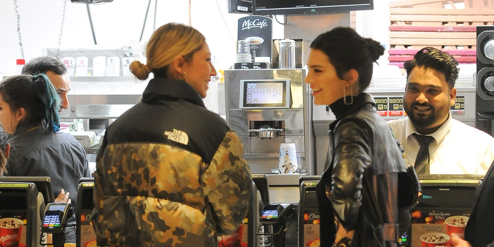 Kendall Jenner Stopped at McDonald's After the British Fashion Awards