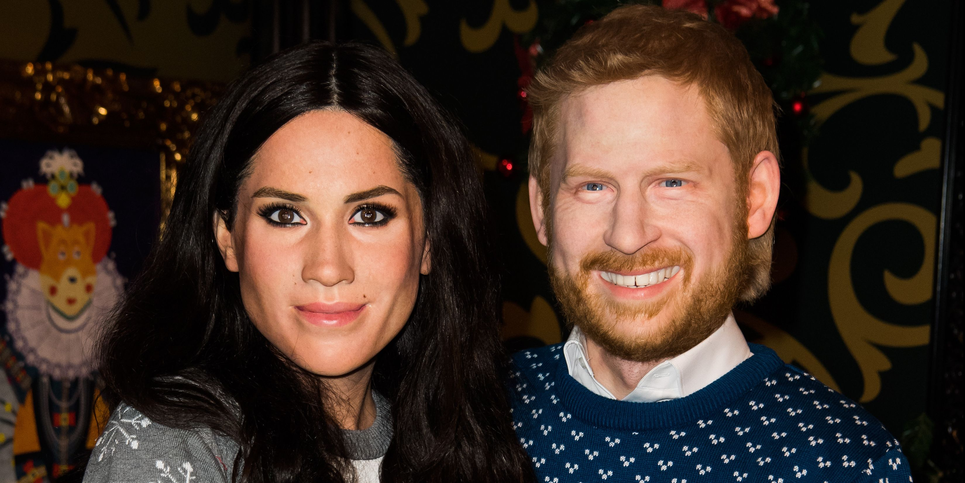 Meghan Markle And Prince Harry Transformed Into 'Live' Waxworks And They're So Bad It's Good
