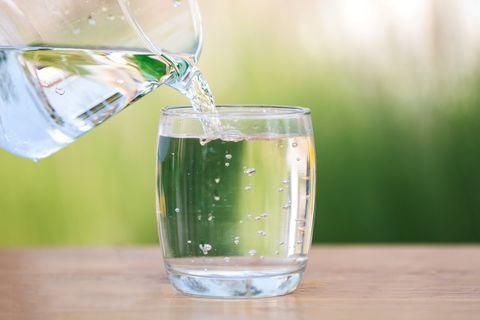 Eau, eau potable, verre