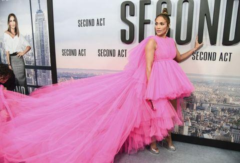 Jennifer Lopez Brings the Drama in Giambattista Valli Haute Couture
