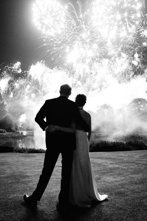 The Duke and Duchess of Sussex shared an intimate portrait from their wedding as their 2018 Christmas Card.
