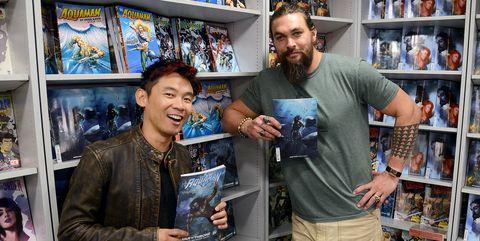 AquamanJames Wan Jason Momoa