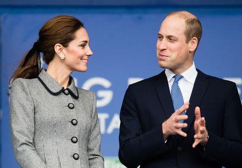 KAte Middleton and Prince William | ELLE UK
